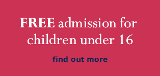 Free admission for children under 16