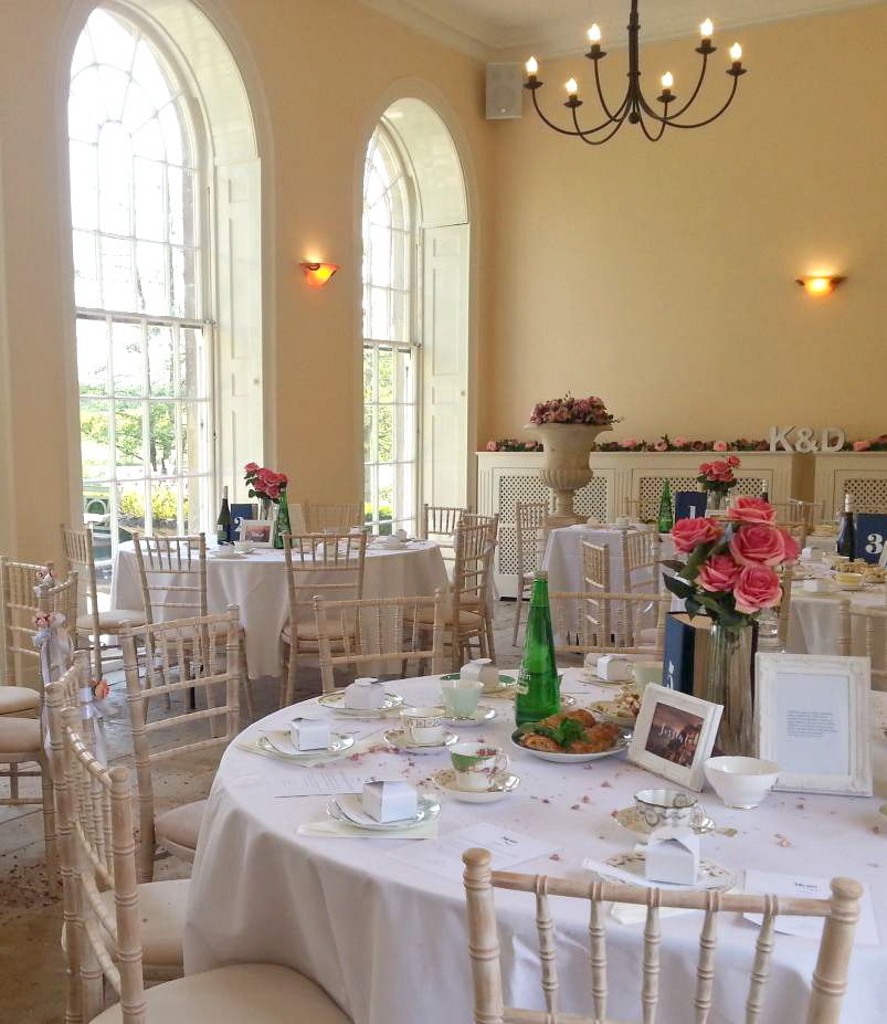 Sherborne Castle Orangery Interior