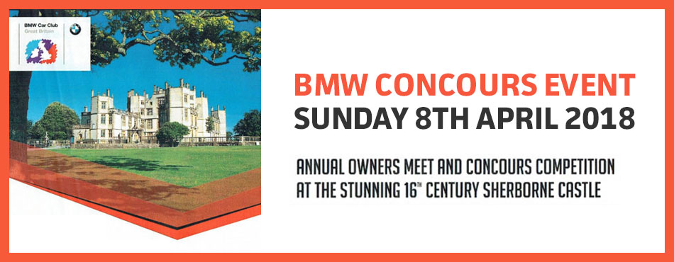 BMW Concours Event Sunday 8th April 2018