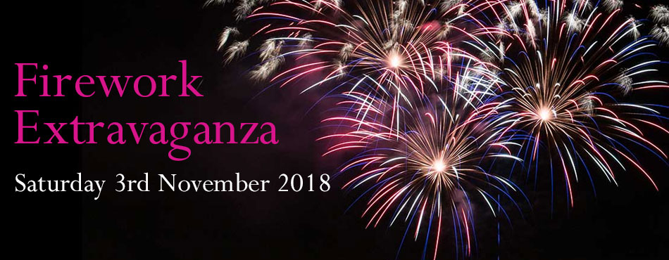 Sherborne Castle Firework Extravaganza, Saturday 3rd November 2018