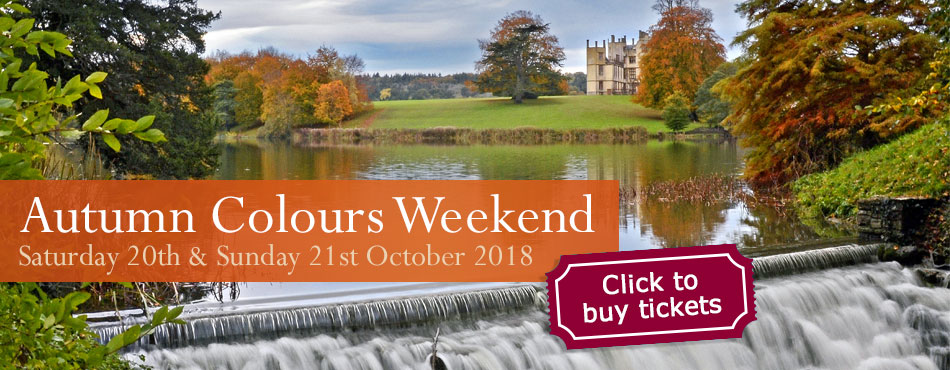 Autumn Colours at Sherborne Castle & Gardens